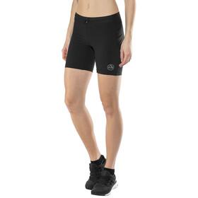 La Sportiva Waft Tights Shorts Damen black/grey